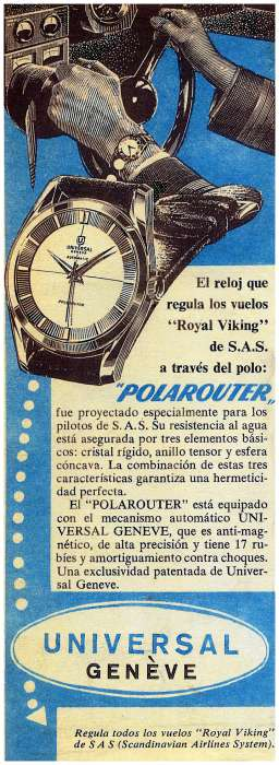 Année 1954 ou 1955 chronique du pôle du Nord Advertisement17-big
