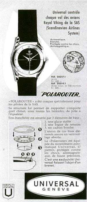 Année 1954 ou 1955 chronique du pôle du Nord Advertisement4-big