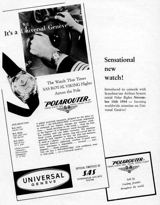 Année 1954 ou 1955 chronique du pôle du Nord Advertisement7-big